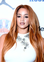 Dascha Polanco sported ultra-long tresses at the Kids Rock! event.