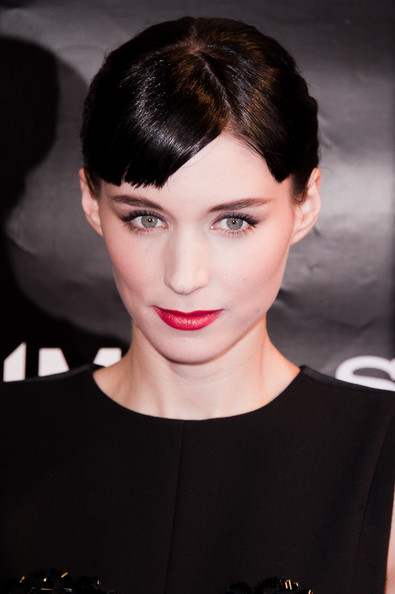 Rooney Mara Hair Rooney Mara attends the'Millenium The Girl With The