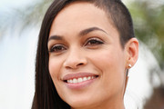 Rosario Dawson Medium Straight Cut