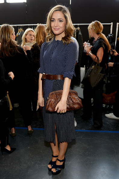Rose Byrne Frame Clutch