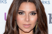 Roselyn Sanchez Metallic Eyeshadow