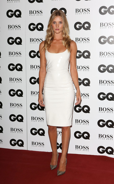 Rosie Huntington-Whiteley Leather Dress