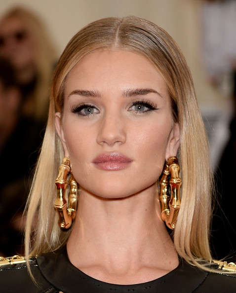 Rosie Huntington-Whiteley Gold Hoops