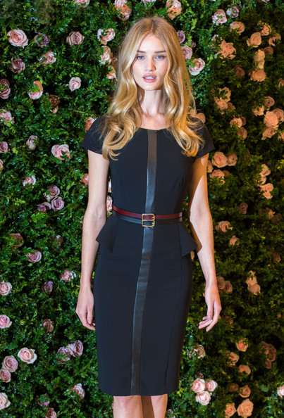 More Pics of Rosie Huntington-Whiteley Long Wavy Cut (1 of 12) - Rosie Huntington-Whiteley Lookbook - StyleBistro