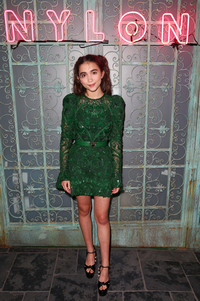 Rowan Blanchard Beaded Dress
