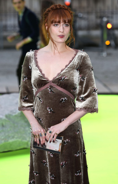 More Pics of Florence Welch Evening Dress (4 of 4) - Florence Welch Lookbook - StyleBistro