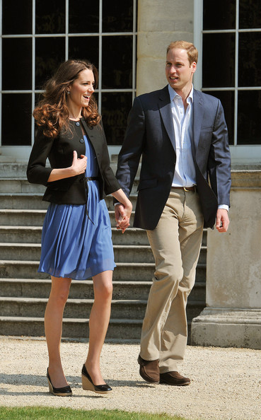 More Pics of Kate Middleton Wedges  (2 of 9) - Kate Middleton Lookbook - StyleBistro