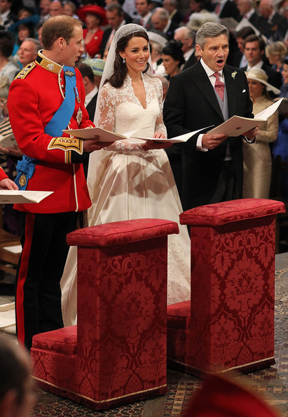 Kate+Middleton in Royal Wedding - The Wedding Ceremony Takes Place Inside Westminster Abbey