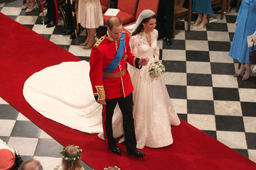 Kate Middleton Weds in Sarah Burton for Alexander McQueen