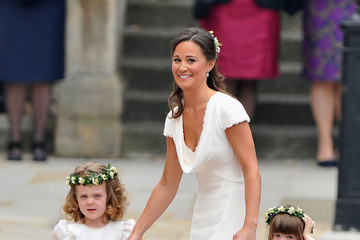 Pippa Middleton Hair: Half-up at the Royal Wedding