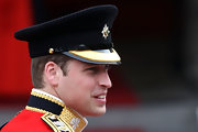 Prince William looked sharp in his traditional military uniform. He completed his look with a customary captains hat.