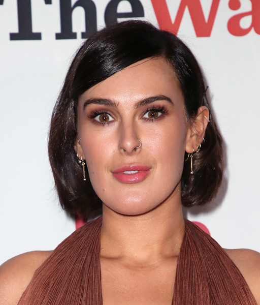 Rumer Willis Bob [love actually live,hair,face,hairstyle,eyebrow,lip,chin,skin,beauty,black hair,forehead,arrivals,rumer willis,wallis annenberg center for the performing arts,beverly hills,california,reception,opening night reception]