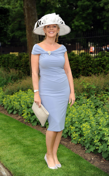 Ruth Langsford Off-the-Shoulder Dress