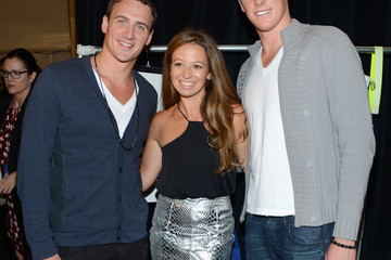 Ryan Lochte Conor Dwyer Milly By michelle Smith - Backstage - Spring 2013 Mercedes-Benz Fashion Week