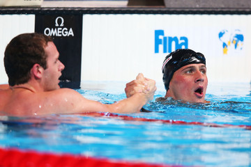 Ryan Lochte Tyler Clary Swimming - 15th FINA World Championships: Day Thirteen