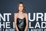Alexa Chung Leather Dress