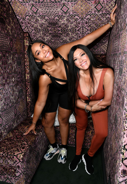 More Pics of Jordyn Woods Crosstrainers (1 of 24) - Athletic Shoes Lookbook - StyleBistro [leg,fun,black hair,long hair,lingerie,muscle,photo shoot,thigh,jordyn woods,elizabeth woods,secndnture,secndnture.com,jordyn woods launch event,launch event,residence,west hollywood,california]