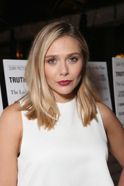 Elizabeth Olsen sported a casual mid-length bob at the SPC Toronto party.