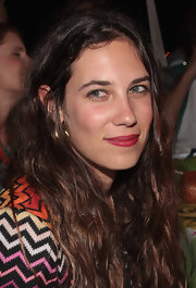 Tatiana Santo Domingo's lipstick was the perfect red--it was dark enough to make a statement, but matched her complexion well so she didn't look too overdone.