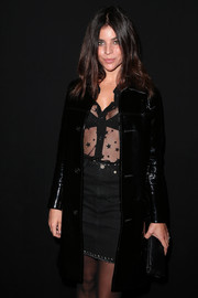 We loved Julia Restoin-Roitfeld's barely there button down!