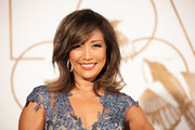 Carrie Ann Inaba sported a super-stylish shoulder-length layered cut during the LoveGold party honoring Lupita Nyong'o.