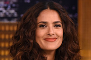 Salma Hayek Long Curls