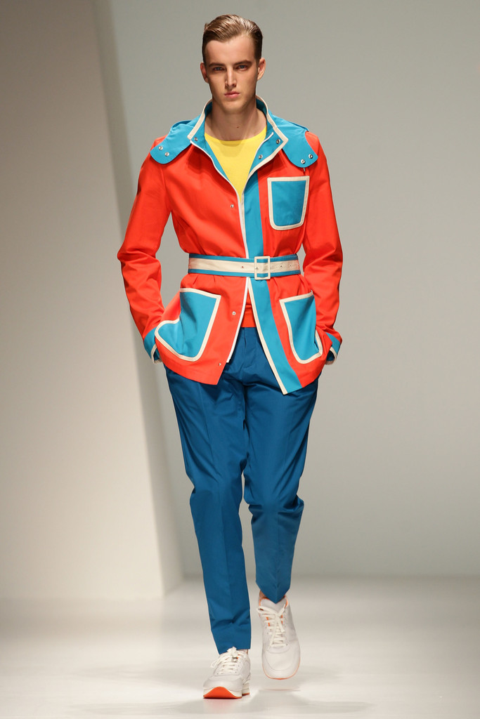 Cartoon Colors 20 Outrageous Men S Looks From Milan
