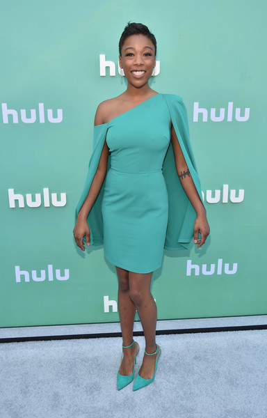Samira Wiley Off-the-Shoulder Dress