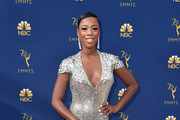 Samira Wiley Metallic Clutch