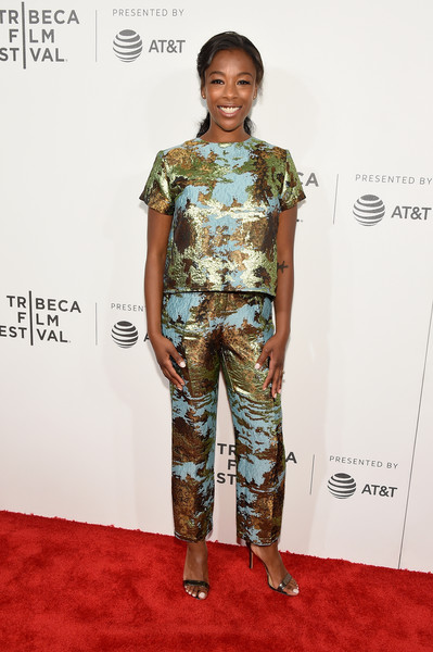 Samira Wiley Print Blouse