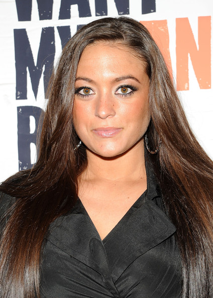 Sammi Giancola Long Straight Cut [i just want my pants back,hair,hairstyle,face,eyebrow,long hair,brown hair,beauty,blond,lip,hair coloring,sammi giancola,new york,mtv,public assembly,premiere]