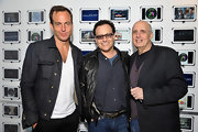Will Arnett sported a denim jacket while out at a mini 'Arrested Development' reunion at SXSW.
