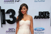 Sanaa Lathan Strapless Dress