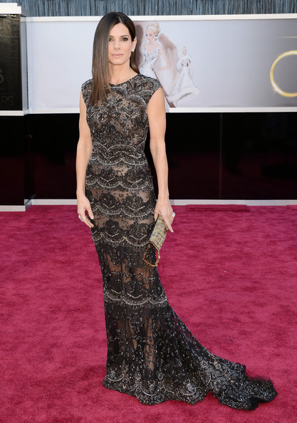 Sandra Bullock Evening Dress