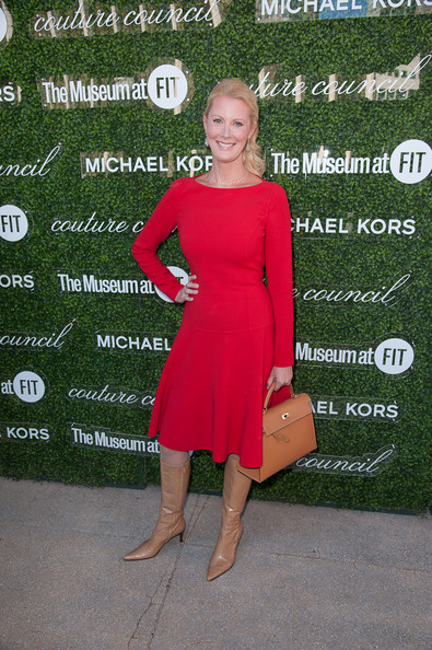 Sandra Lee Day Dress [clothing,red,dress,cocktail dress,footwear,fashion,shoulder,carpet,leg,flooring,david h. koch theater,new york city,lincoln center,couture council fashion visionary awards,sandra lee]