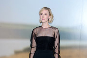 Saoirse Ronan Fitted Blouse