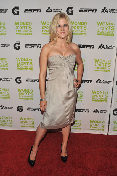 Sarah Burke Strapless Dress