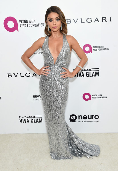Sarah Hyland Sequin Dress
