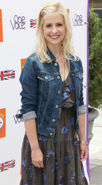 Sarah Michelle Gellar Denim Jacket