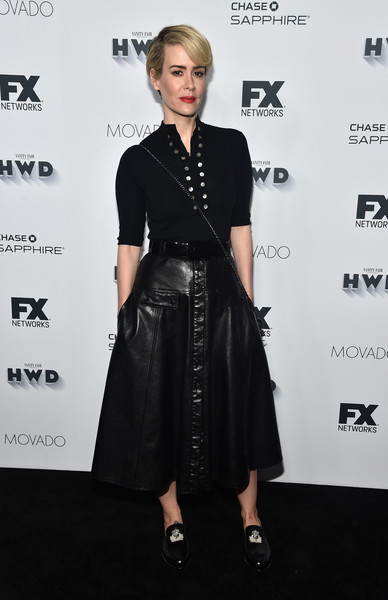 Sarah Paulson Casual Loafers