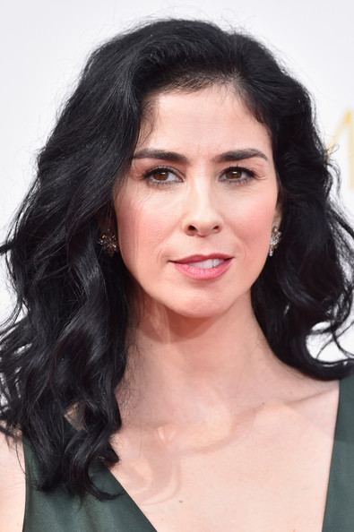 Sarah Silverman Long Wavy Cut