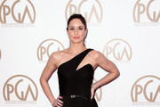 Sarah Wayne Callies One Shoulder Dress