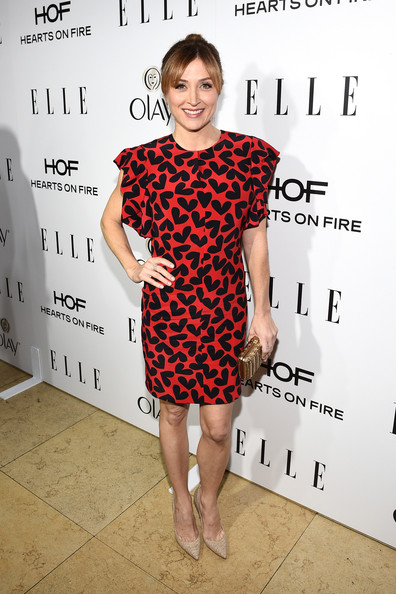 Sasha Alexander Print Dress