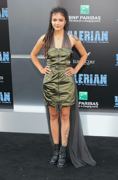 Sasha Lane Fishtail Dress