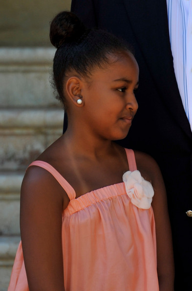 Sasha Obama Hair