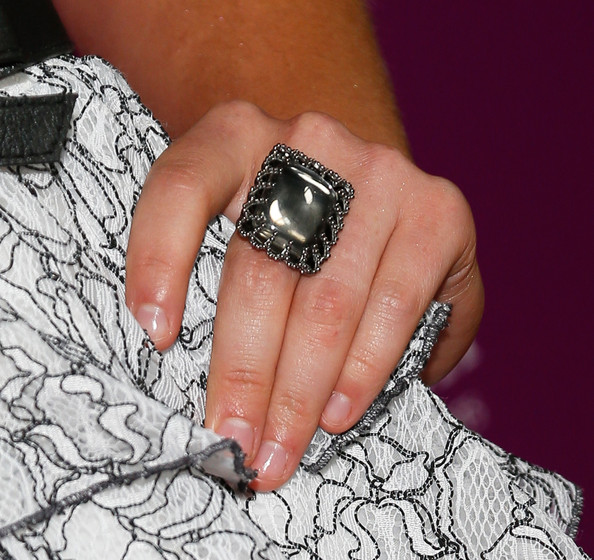 Sasha Pieterse Cocktail Ring