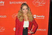 Sasha Pieterse Wool Coat
