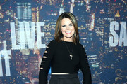 Savannah Guthrie Crop Top