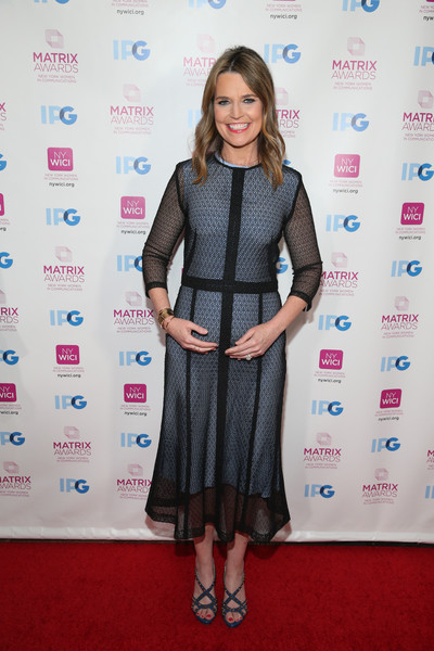 Savannah Guthrie Cocktail Dress