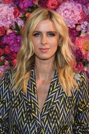 Nicky Hilton Rothschild showed off beach-glam waves at the Schiaparelli Couture Fall 2018 show.